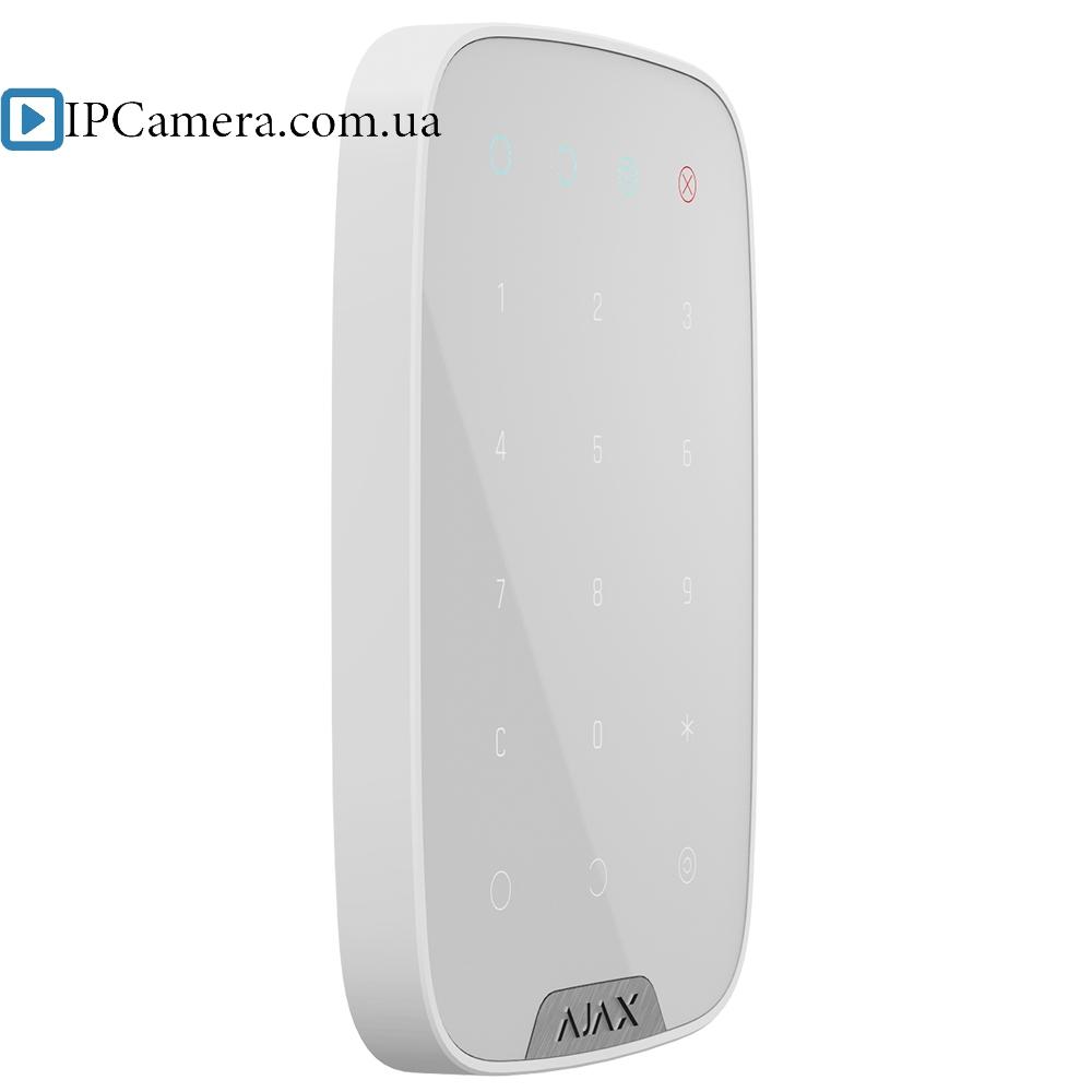 Cенсорная клавиатура Ajax KeyPad [белый] - 1