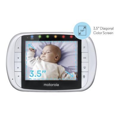 Видеоняня Motorola MBP36S с роботизированной камерой - 4