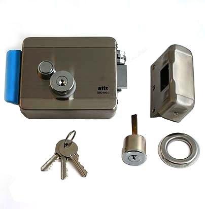Электромеханический замок Atis Lock SS (нержавеющая сталь) - 1