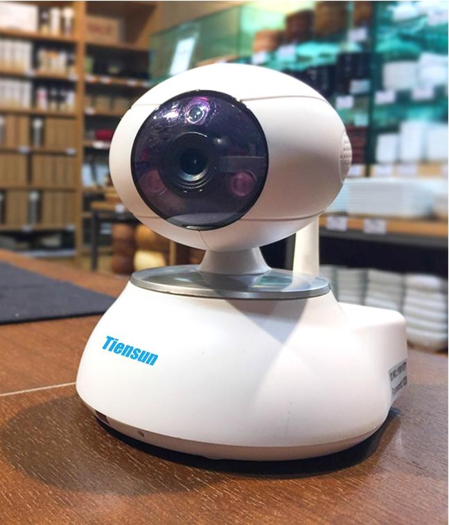 Корпусная беспроводная IP камера Tiensun TS-IPC014 1Mpx - 2