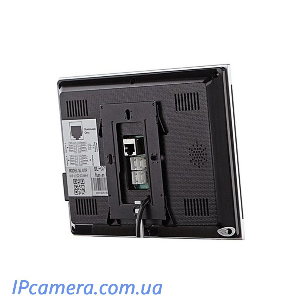 Wi-FI Відеодомофон Slinex SL-07 IP-Черный - 1