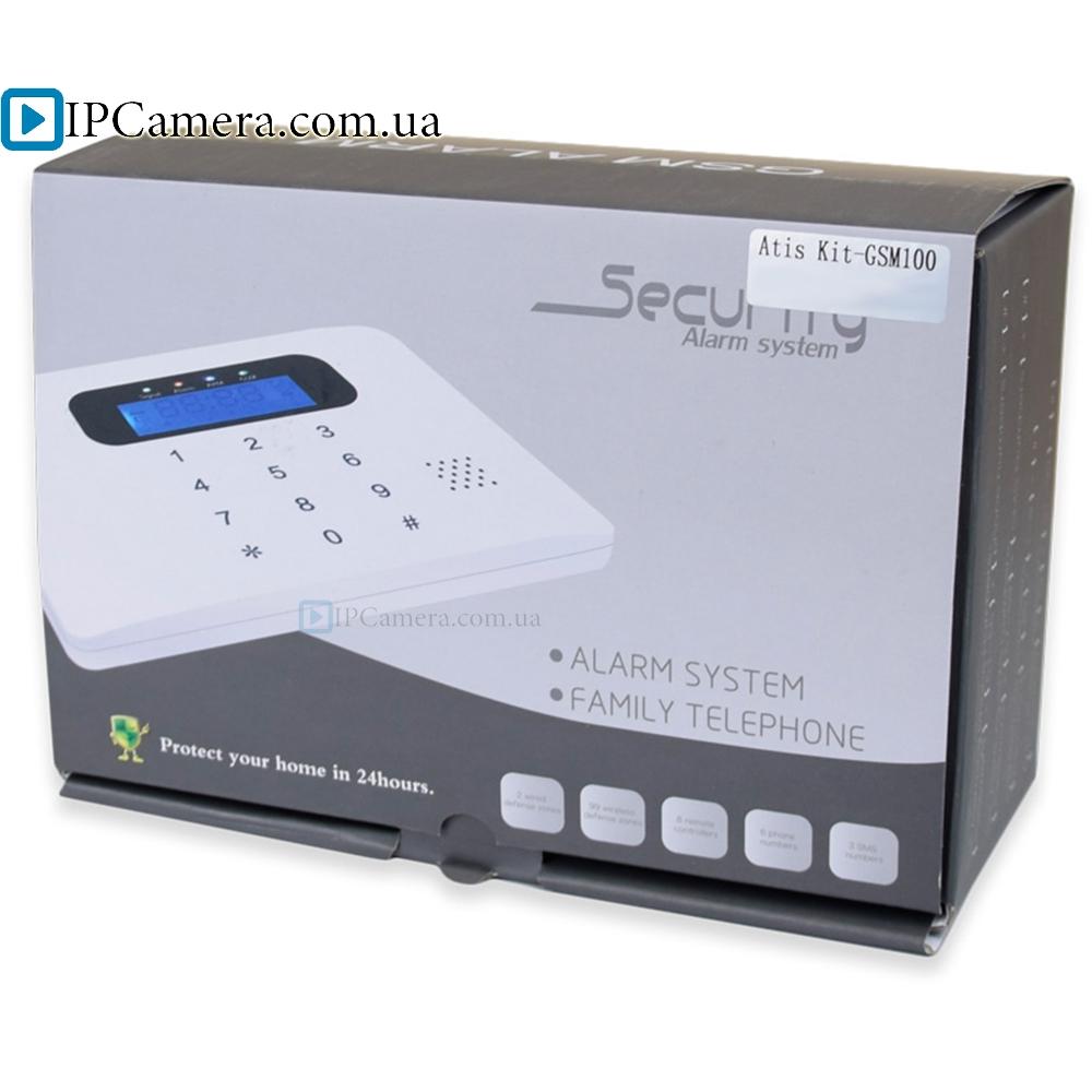 ATIS Kit-GSM100 Комплект беспроводной GSM-сигнализации - 7