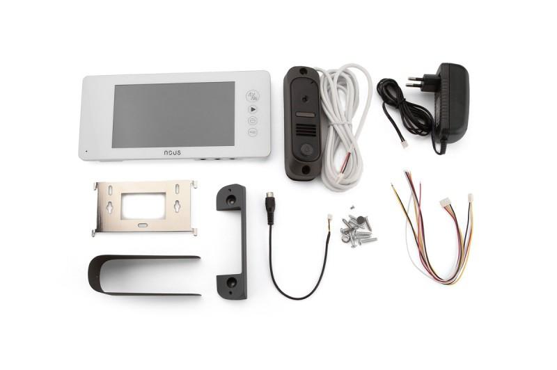 Видеодомофон Nous NV8 комплект с панелью вызова - 1