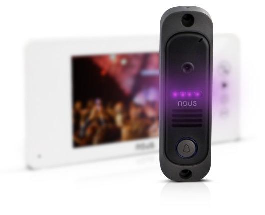 Видеодомофон Nous NV8 комплект с панелью вызова - 5