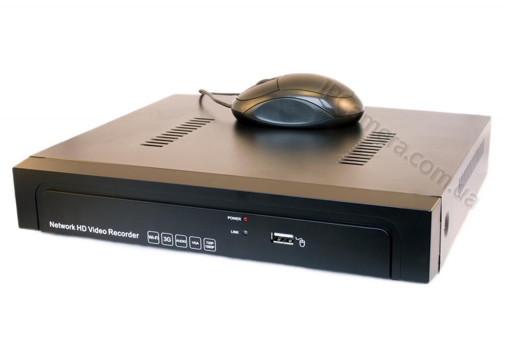 Комплект IP видеонаблюдения на 4 камеры Winson WS-N61004 Winson WS-I8911 4pcs HDD Seagate 1TB - 2