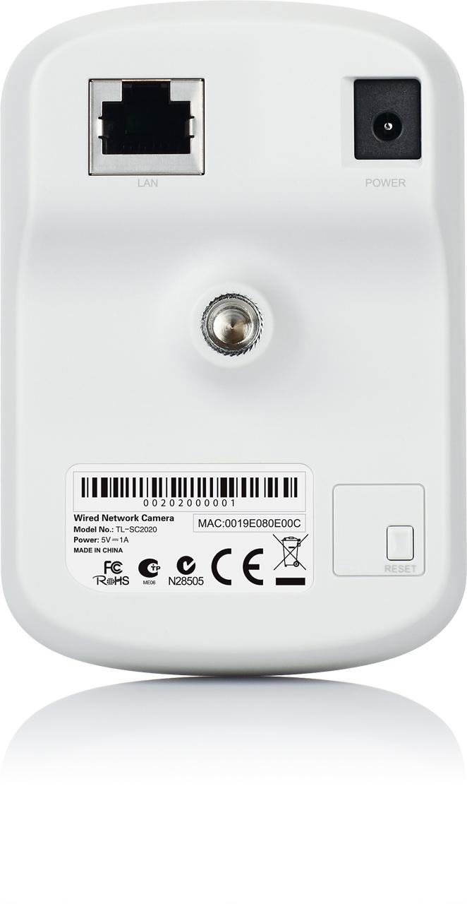 Беспроводная корпусная IP камера TP-Link TL-SC2020 - 4