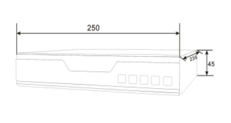 NVR IP видеорегистратор на 4 канала Winson WS-N4151 - 1