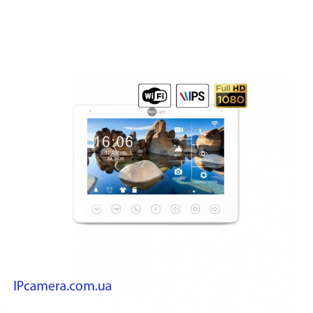 КОМПЛЕКТ ВИДЕОДОМОФОНА NEOLIGHT NEOKIT HD+ WIFI SILVER - 2