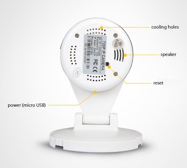 Корпусная беспроводная IP камера Tiensun TS-IPC010 1Mpx - 3