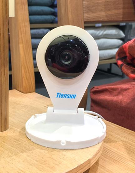 Корпусная беспроводная IP камера Tiensun TS-IPC010 1Mpx - 1
