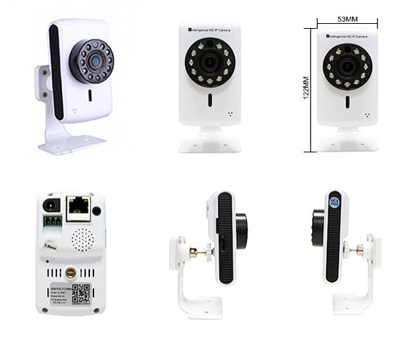 Корпусная беспроводная IP камера Tiensun TS-IPC007 1Mpx - 1
