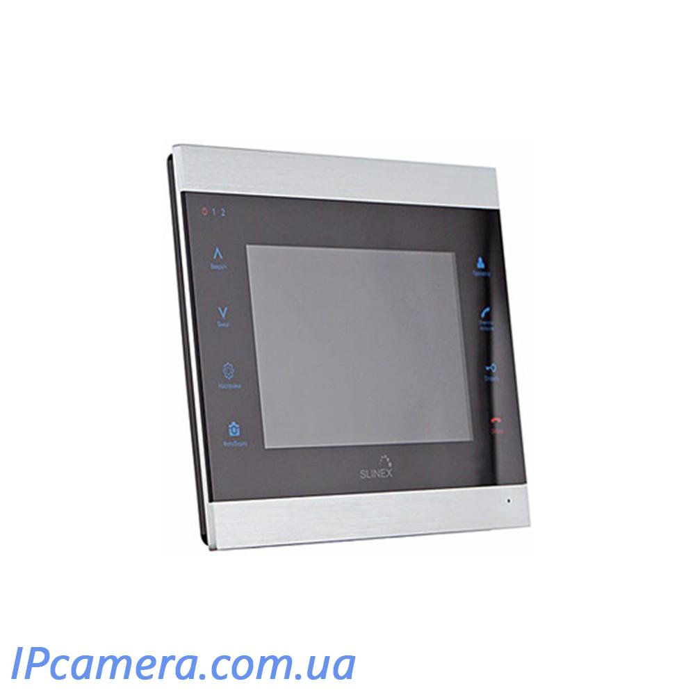 Wi-FI Відеодомофон Slinex SL-07 IP-Черный - 2