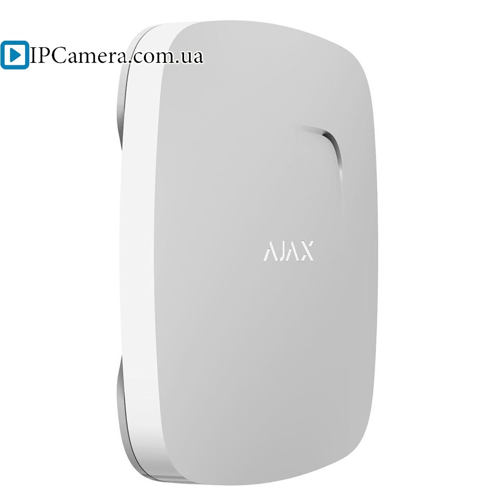 Датчик дыма и угарного газа Ajax FireProtect Plus [белый] - 1