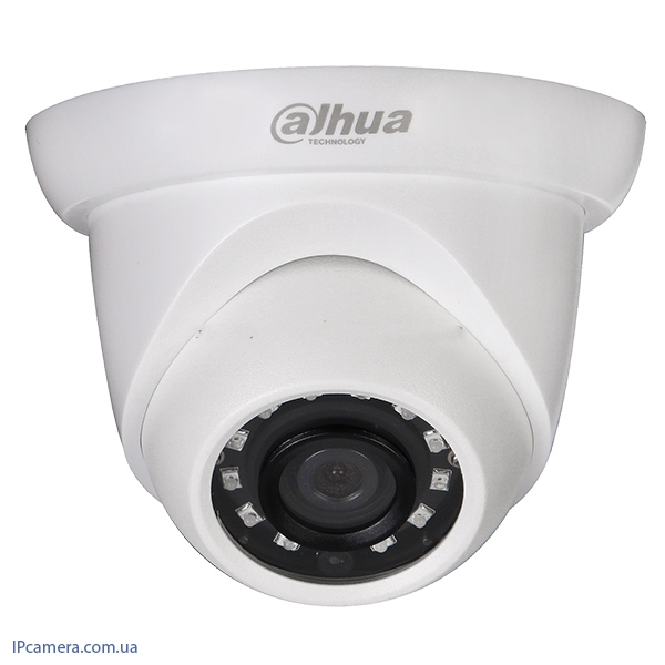 Купольная IP камера Dahua IPC-HDW1020SP-S3-0280B - 1MP - 17581