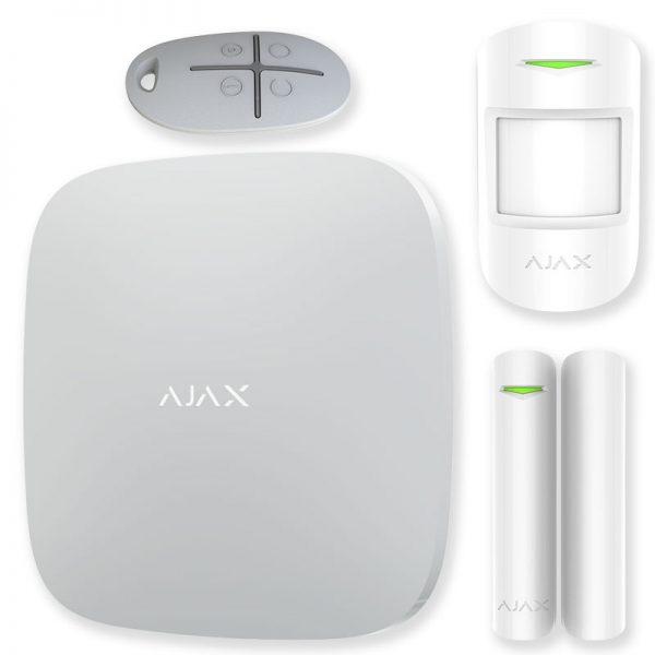 Комплект GSM охранной сигнализации GINZZU HS-K12B Комплект GSM охранной сигнализации: Контрольная панель с экраном 1 датчик движения 1 дверной/око